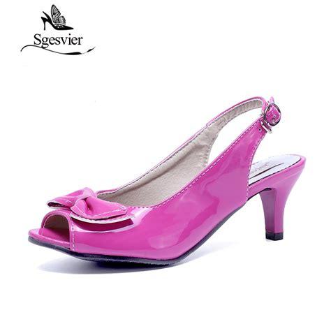 peep toe sandals low heel sgesvier sandals womens peep toe low heel
