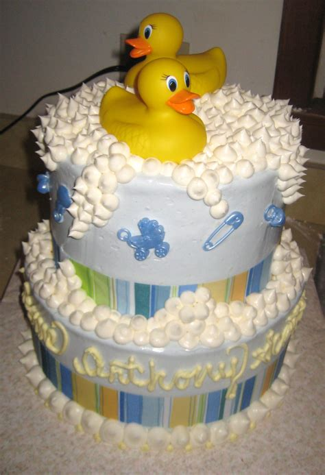 Baby Shower Duck Cakes by Pin Rubber Ducky Baby Shower Theme Cake On