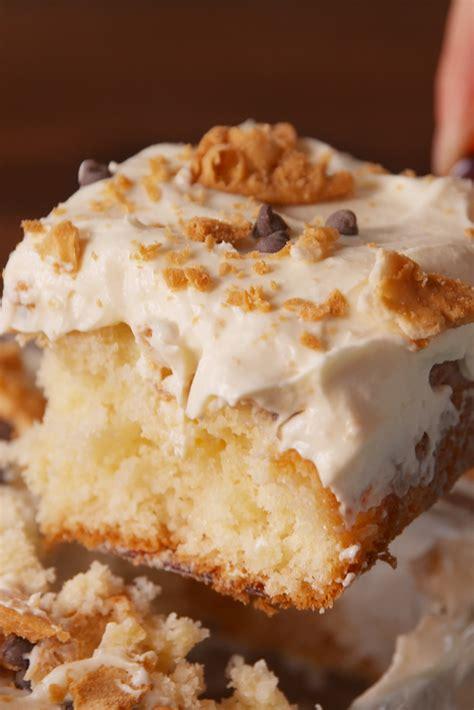 cannoli poke cake recipe    cannoli poke