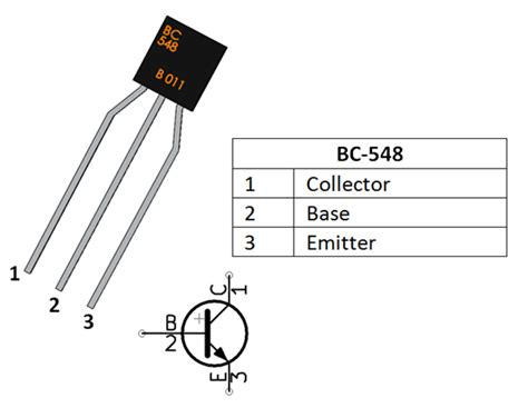 Termurah Transistor Tr Bc548 Bc 548 To 92 Npn 30v 100ma To 92 bc548 transistor pinout equivalent working as lifier switch datasheet