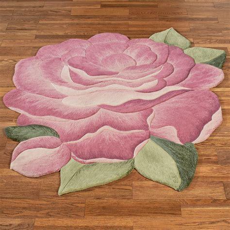 garden flower shaped rugs