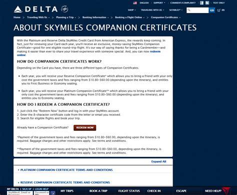 companion certification 99 delta amex gold companion certificate perk to end 25jan2013 zone 2 boarding