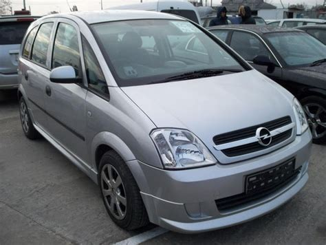 2004 Opel Meriva 1 4 Related Infomation Specifications