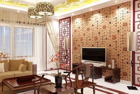 better homes interior design 35款客厅电视背景墙新中式风格装修效果图 素材分享