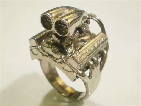 jewelry for the ultimate gearhead rings with your