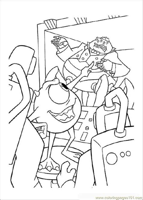 monsters inc coloring pages pdf coloring pages monsterinc 09 cartoons gt monsters inc