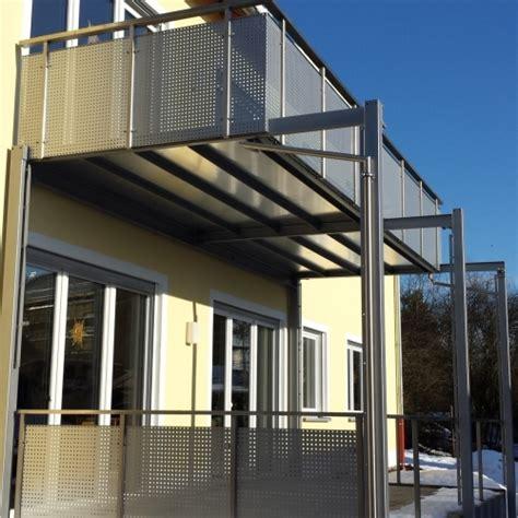 edelstahlgeländer glas balkone