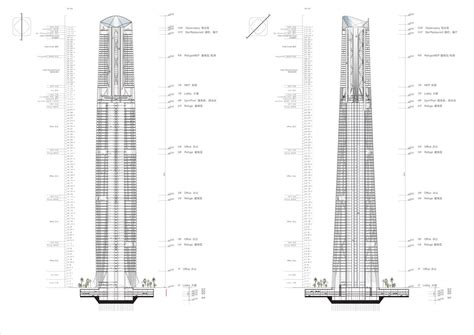 are c sections optional gallery of haikou tower competition winner henn 13