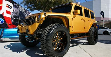 Gold Jeep Wrangler 4 Jeep Wranglers You Wish You Owned Kendall
