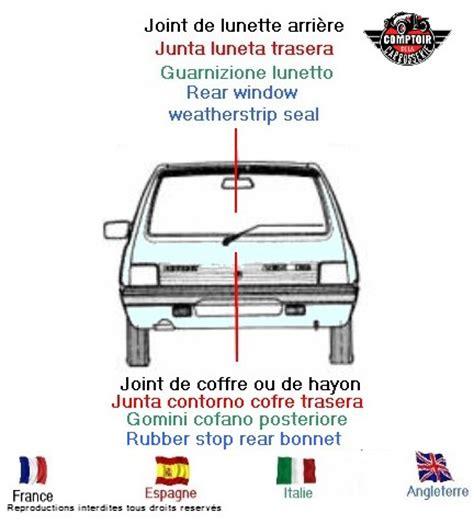 comptoir carrosserie fr profils joints caoutchouc