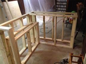 build plans how to build a l shaped bar wooden woodwork