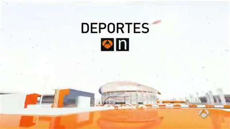 cabecera antena 3 noticias cabecera deportes antena 3 noticias youtube