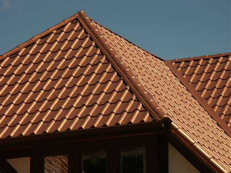 tile roof simulated tile metal roofing