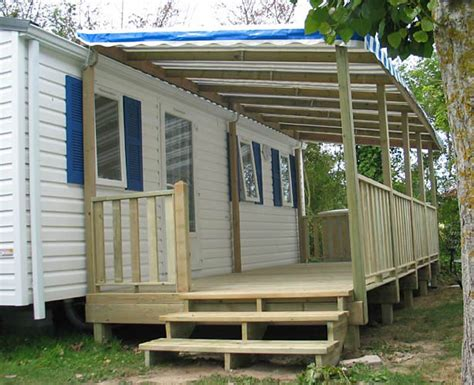 Comment Construire Une Terrasse Couverte 2967 by Terrasse Couverte Mobil Home