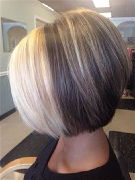 brown long hair with grey aroung front chunky blonde highlights courtesy of kristy gardner