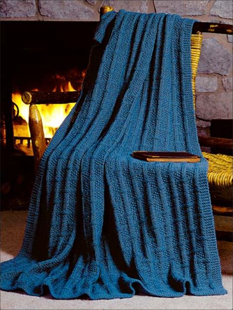 pattern for knitted afghan free square lattice afghan