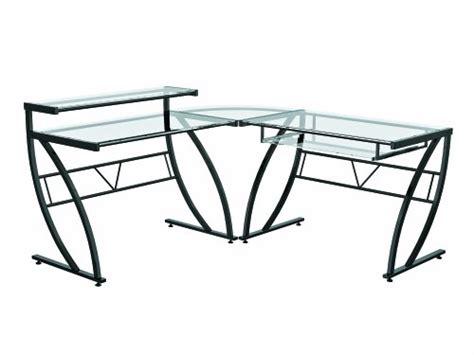 Glass Gaming Desk Home Furniture Design Glass Gaming Desk