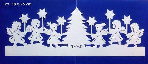 Fensterbilder Weihnachten Vorlagen Sterne by Fensterbild Tonkarton Bandornament Engel Sterne Baum
