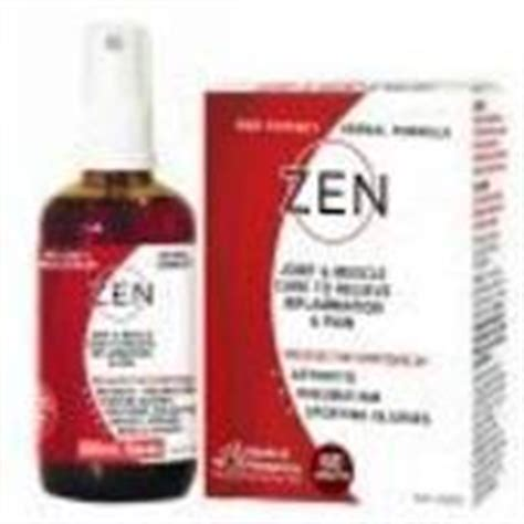 Zen Detox Nz by Zen Therapeutic Herbal Tincture Liniment Spray 100ml