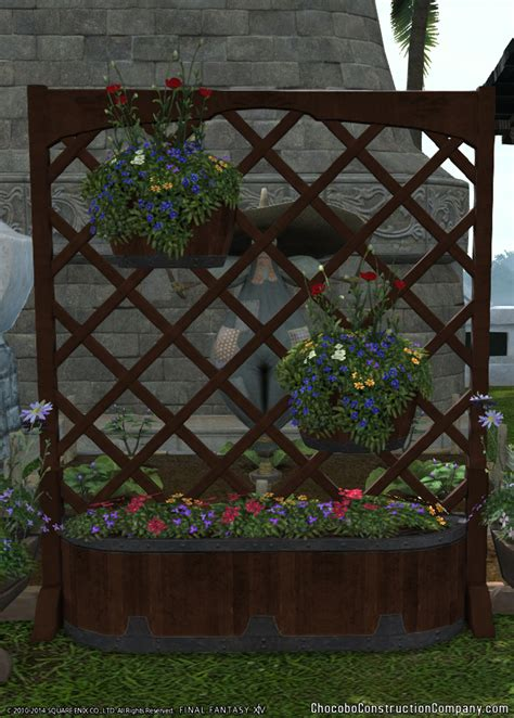 Planter With Lattice by Lattice Planter Chocobo Construction Co