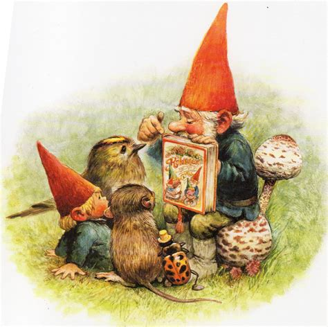 of gnomes books for pencils my favourite artists rien poortvliet