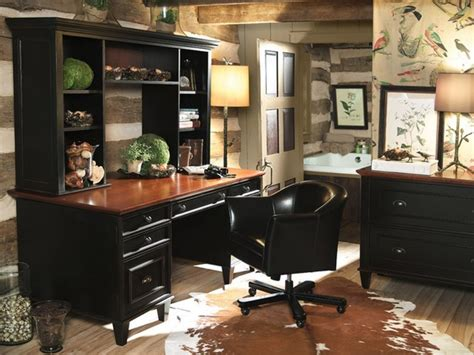 small home office design professional office decorating traditional desk with decorative hutches for small