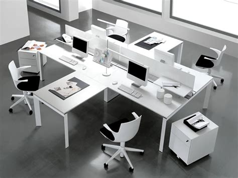 Modern Office Interior Design Of Entity Desk By Antonio Modern Office Furniture Design