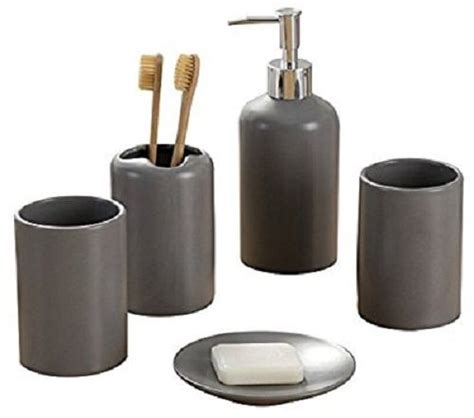 where to buy bathroom accessories 20 best amazon s grey bathroom accessories to buy