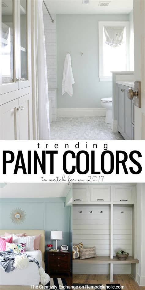 trending interior paint colors for 2017 remodelaholic paint color trends for 2017