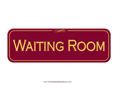 waiting room signs waiting room sign printable www pixshark images galleries with a bite