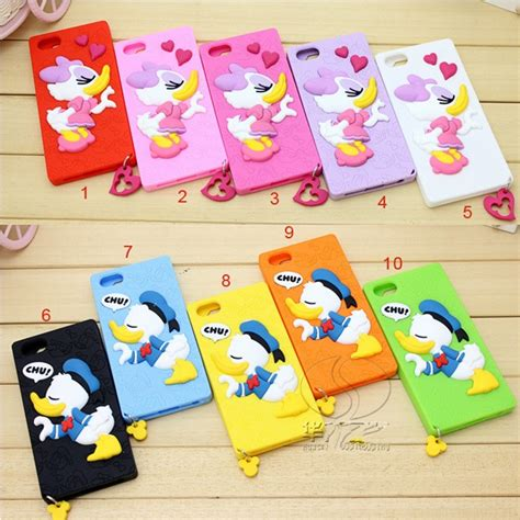 Donald Duck Yellow Iphone 4 4s Casing Cover Hardcase donald duck tpu for iphone 4 4s orange jakartanotebook