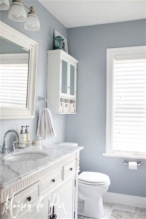 Light Blue Bathroom Paint Sherwin Williams Krypton Paint Color Maison De Pax Used Sherwin Williams Krypton In Their