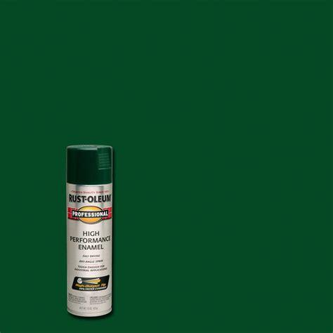 home depot spray paint green rust oleum professional 15 oz gloss green