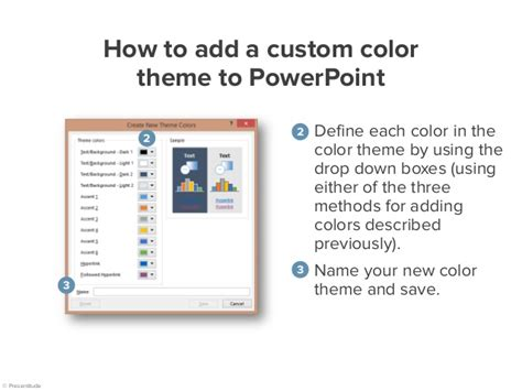 how to create a presentation color theme from a photo how to create your own color theme for your powerpoint