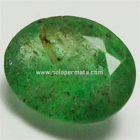 Cincin Permata Emerald batu permata zamrud emerald beryl 26a03 toko
