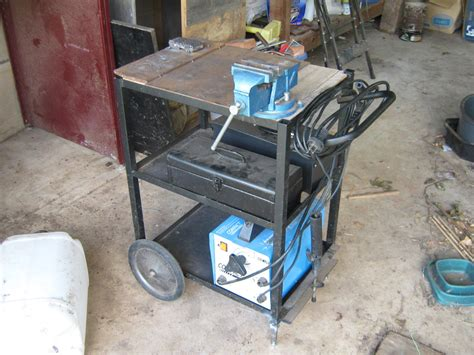 Welding Bench Mod Ditching The Casters Diy Data