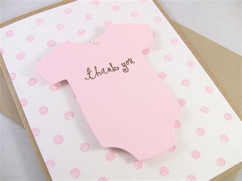 Handmade Baby Shower Thank You Cards - 1000 ideas about baby thank you cards on
