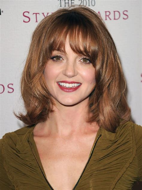 Shoulder Length Black Hairstyles With Bangs by Medium Length Curly Hair Style For