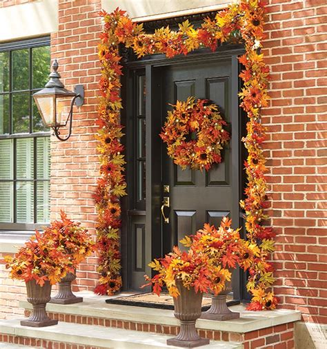 Fall Decorations For The Home Fall Decorating Ideas Sunflower Home Decor Collection Improvements