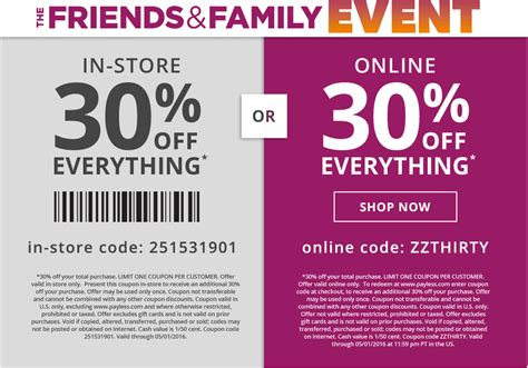 payless shoes promo code payless shoes 30 everything living rich with coupons 174