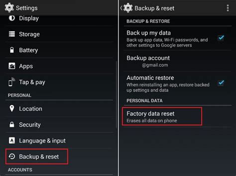 reset android mobile data usage full solutions to fix android phone no sound issue