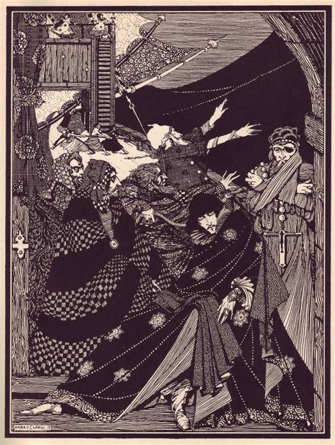 a by edgar allan poe harry clarke s spectacular illustrations for edgar allan