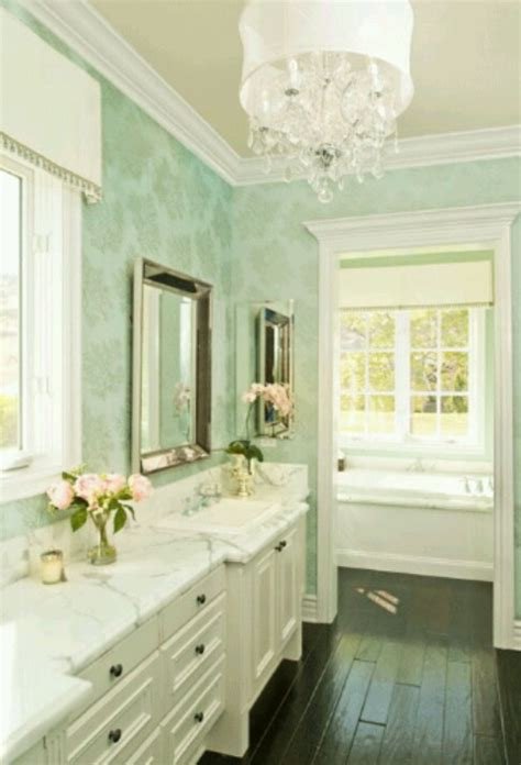 Mint green bathrooms! A cry for help bossy color Annie Elliott Interior Design