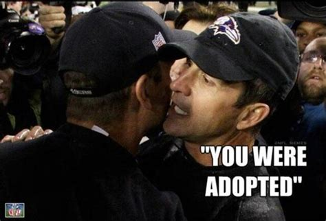 Harbaugh Meme - funny super bowl pictures brothers are coaches dump a day