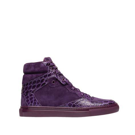 s balenciaga sneakers balenciaga balenciaga monochrome alligator print sneakers