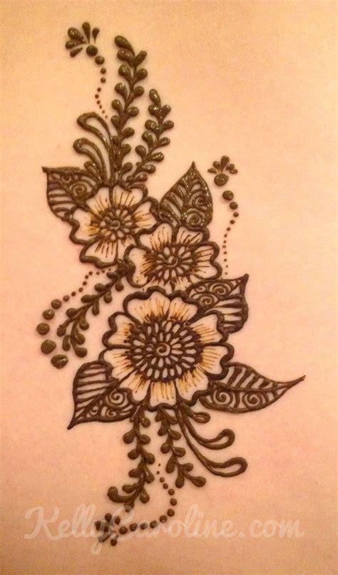 henna tattoo embroidery designs caroline michigan henna artist henna flower