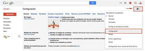 gmail buzon de entrada configurar gmail para cuentas de correo de tu hosting
