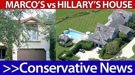 clinton s house vs marco rubio s house