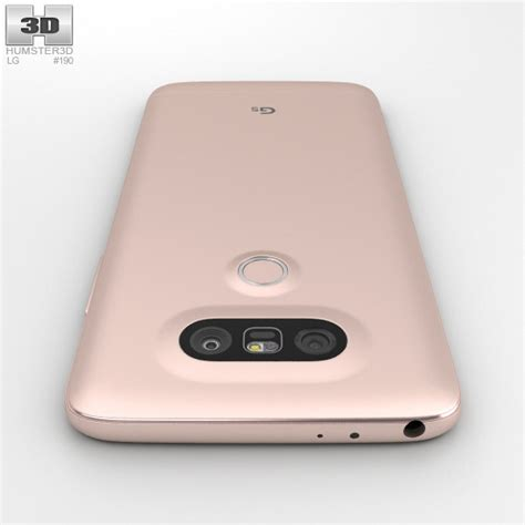 Custom Lg G5 Lutfi One lg g5 pink 3d model hum3d