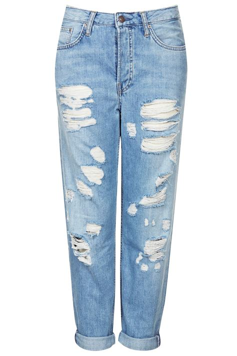 Ripped Pants2 by Moto Pretty Bleached Ripped Hayden Topshop